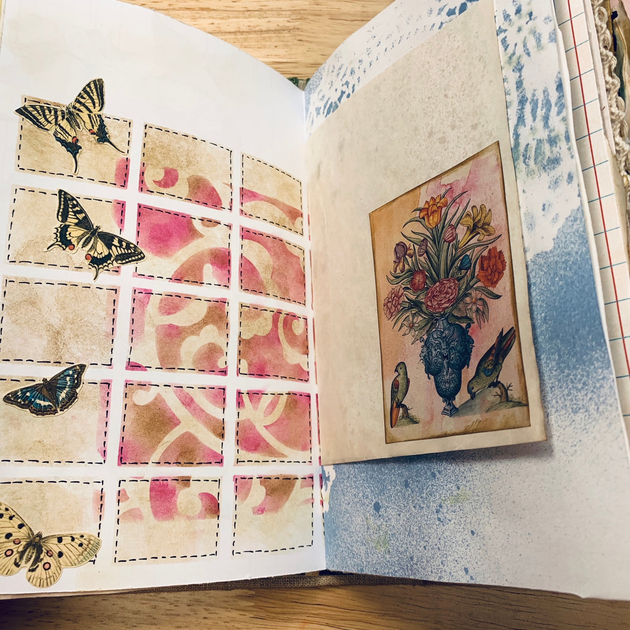 June Junk Journal by Deb Ferrell (Feb. Challenge Journal)