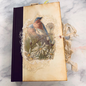 Antique Nature Altered Book Junk Journal by Emily Hosford (January 2020 Challenge)