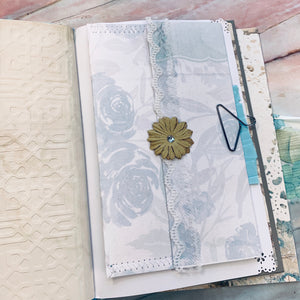 Hummingbird Junk Journal by Connie Harvey