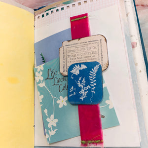 Delicate Blue Journal by Julia Butler (March Challenge)