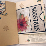 Holiday Junk Journals set of 2 by Barbara Leventhal