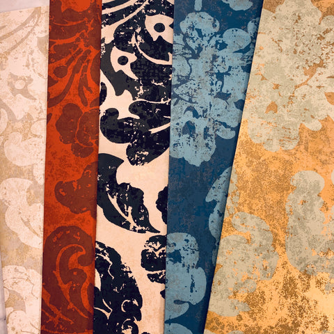 Avignon Wallpaper Collection set of 5 - LZ