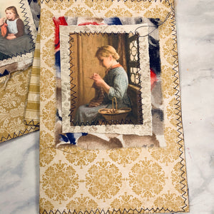 Handiwork Stitched Journal Covers art of 4 - LZ