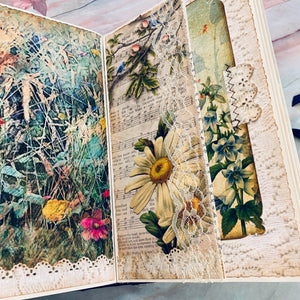 Sights and Sounds of Art Junk Journal by Emily Hosford