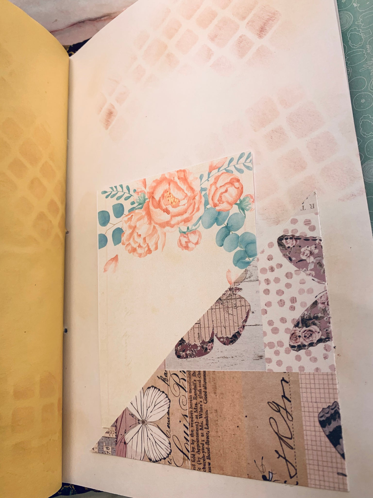 Pretty Violinist Journal by Jane Dilley (March Challenge)