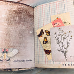 Inspirational Butterfly Junk Journal by Sasha Shamblen (Feb Challenge Journal)