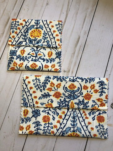 2 Fabric Bags - JH