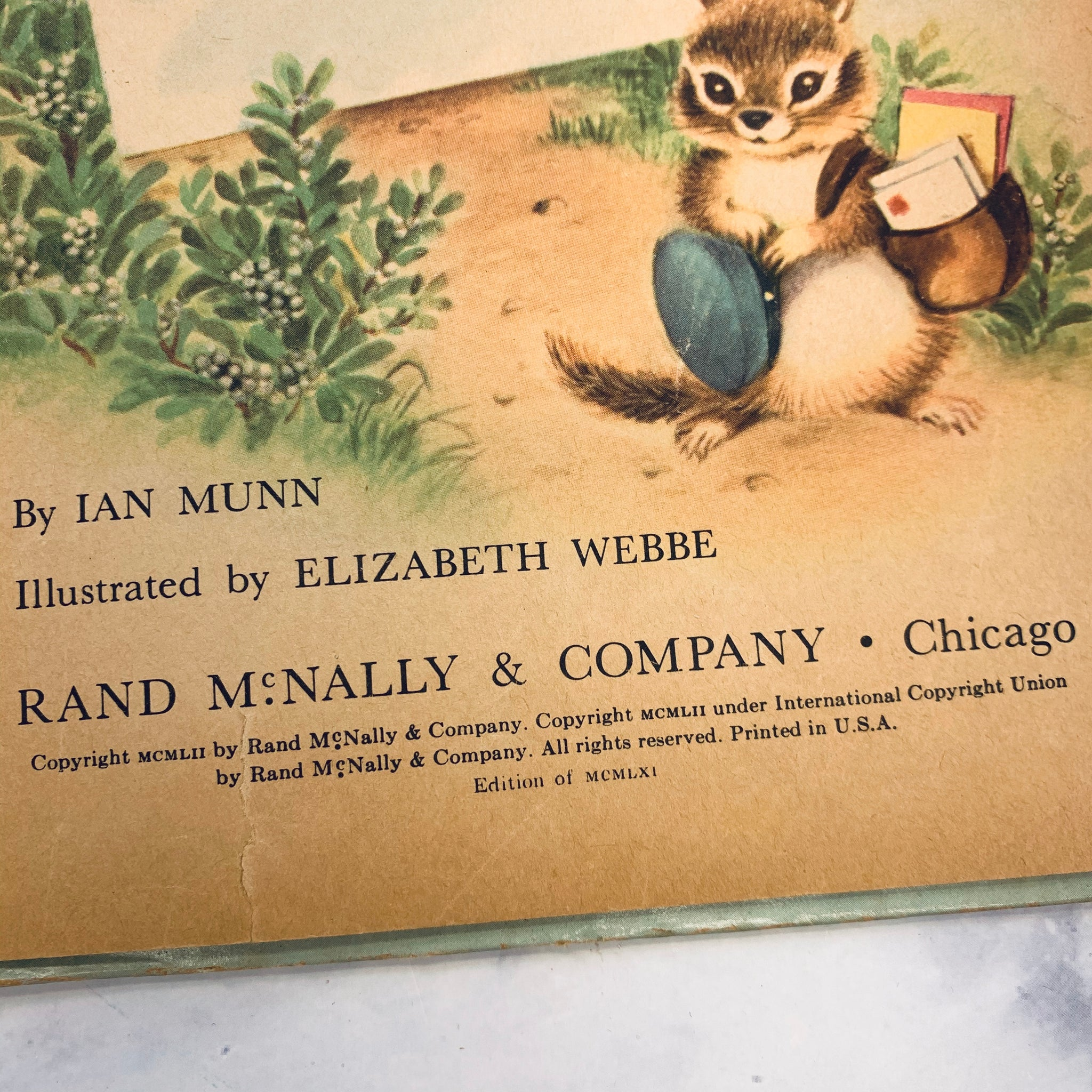 Vintage Adorable Children's Books - LZ
