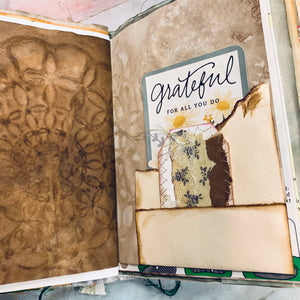 Flower Land Junk Journal by Barb Plude