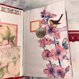 Flora & Fauna Junk Journal by Cindy Anderson (January Challenge)