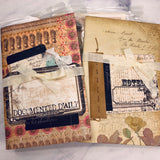 Decorate Your Own Junk Journal set of 2 by Tami Sohn