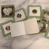 Christmas Gift Tags / Fliplets set of 8 - LZ