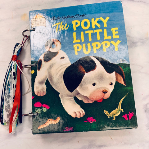 Puppy Junk Journal by Connie Harvey