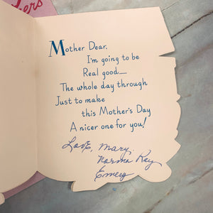 Vintage Mother's Day Cards - LZ