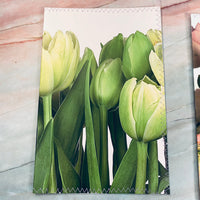 Realistic Flowers Stitched Journal Covers set of 3 - LZ