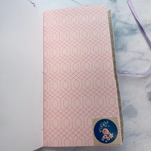 Set of 3 Purple Junk Journals by Tamara Moore