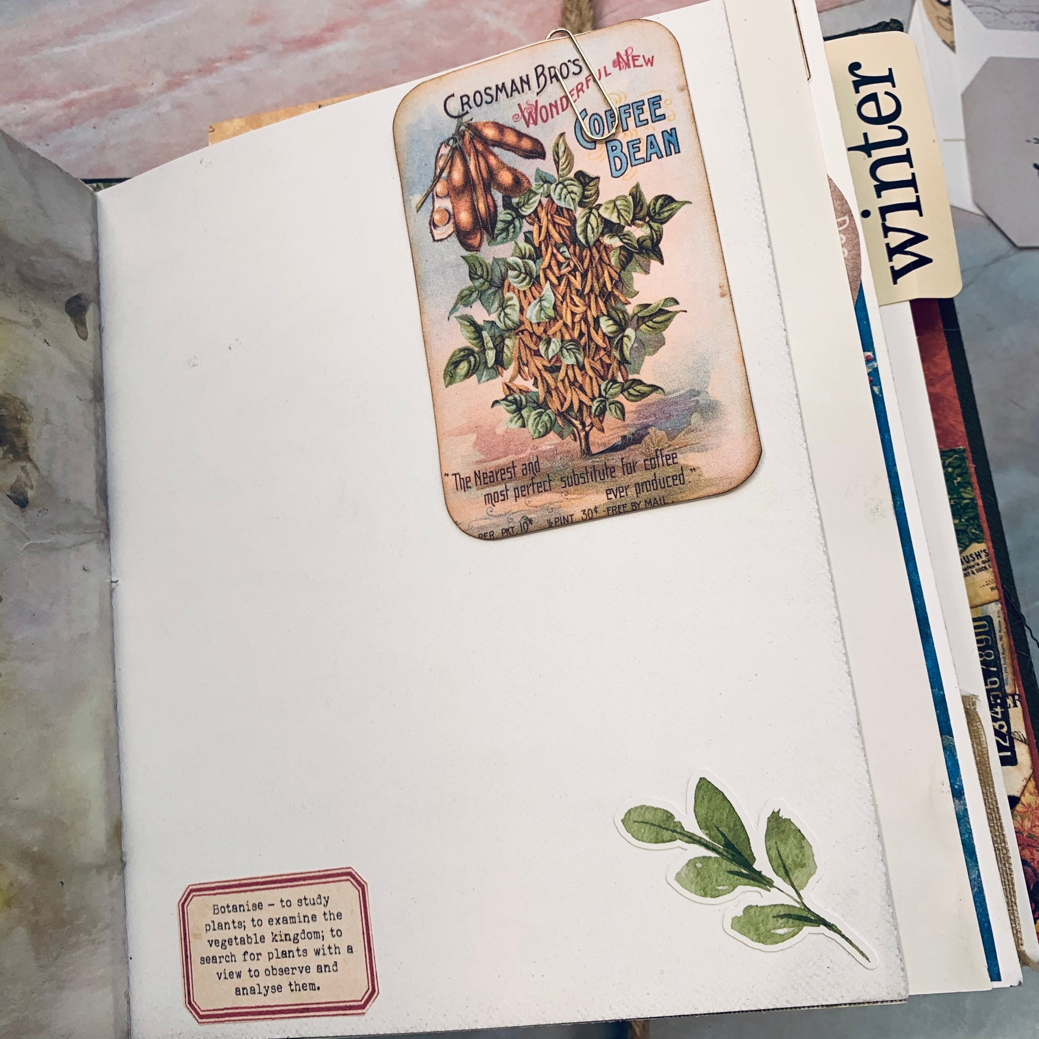 The Garden Year Junk Journal by Elizabeth Chisholm (AprCh)