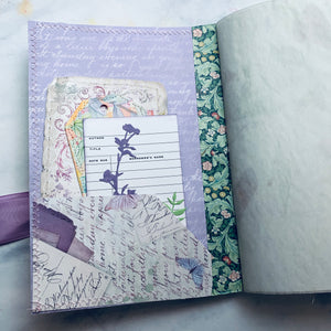 Peaceful Life Junk Journal by Priscilla Coumos
