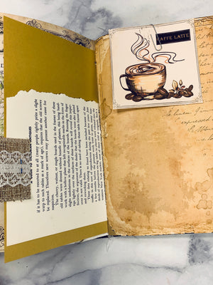 Coffee Junk Journal by Lindsey