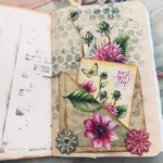 Set of 2 B6 Junk Journals by Ann from Sweden
