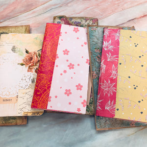 Set of 3 Journal Clutches with Journals by Ann from Sweden