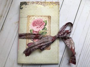 Budget Junk Journal with Wallpaper Pieces - JH