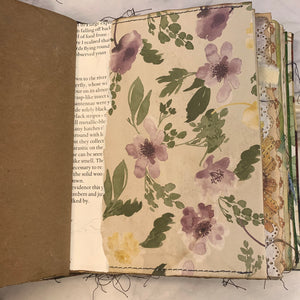 Leaf Spray Nature Journal by Cheryl Miller from Canad