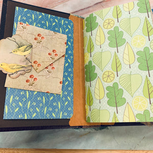 Thoughts Junk Journal by Kim Warwick