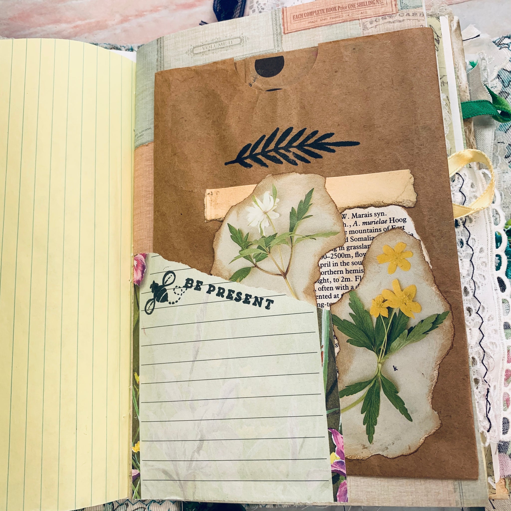 Pretty Junk Journal by Barb Plude