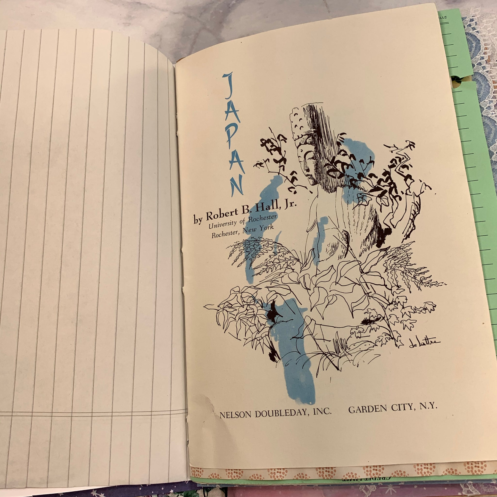 Travel to Japan Junk Journal by Yesenia Diaz