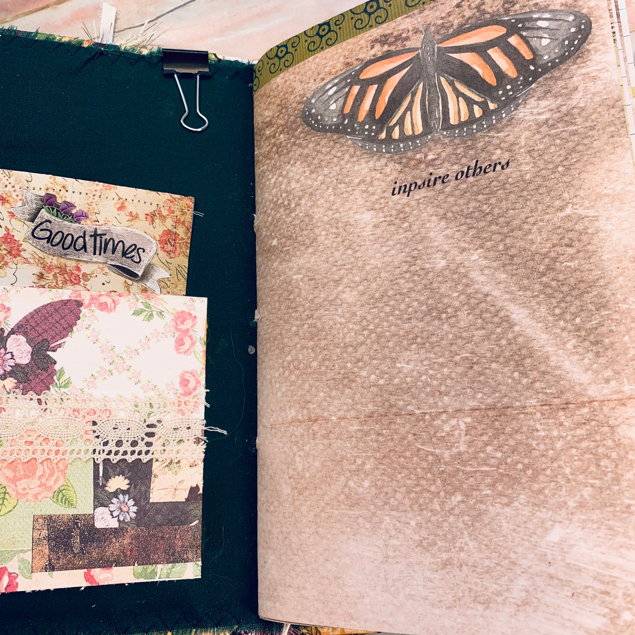 Butterflies Junk Journal by Jane Dilley (Feb Journal Challenge)