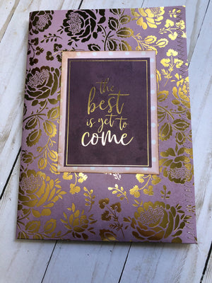 """The Best is Yet to Come"" Folio & Ephemera - JH"