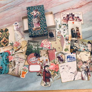 Mini Box of Ladies Ephemera 1- LZ