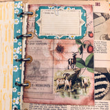 Cookbook Ring Bound Junk Journal by Kelsey Andrews