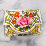 Vintage Stationery Stuffed Pouch - LZ