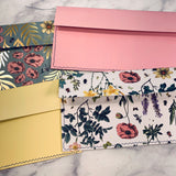 Secret Garden Stitched Envelope Pouches set of 4 - LZ