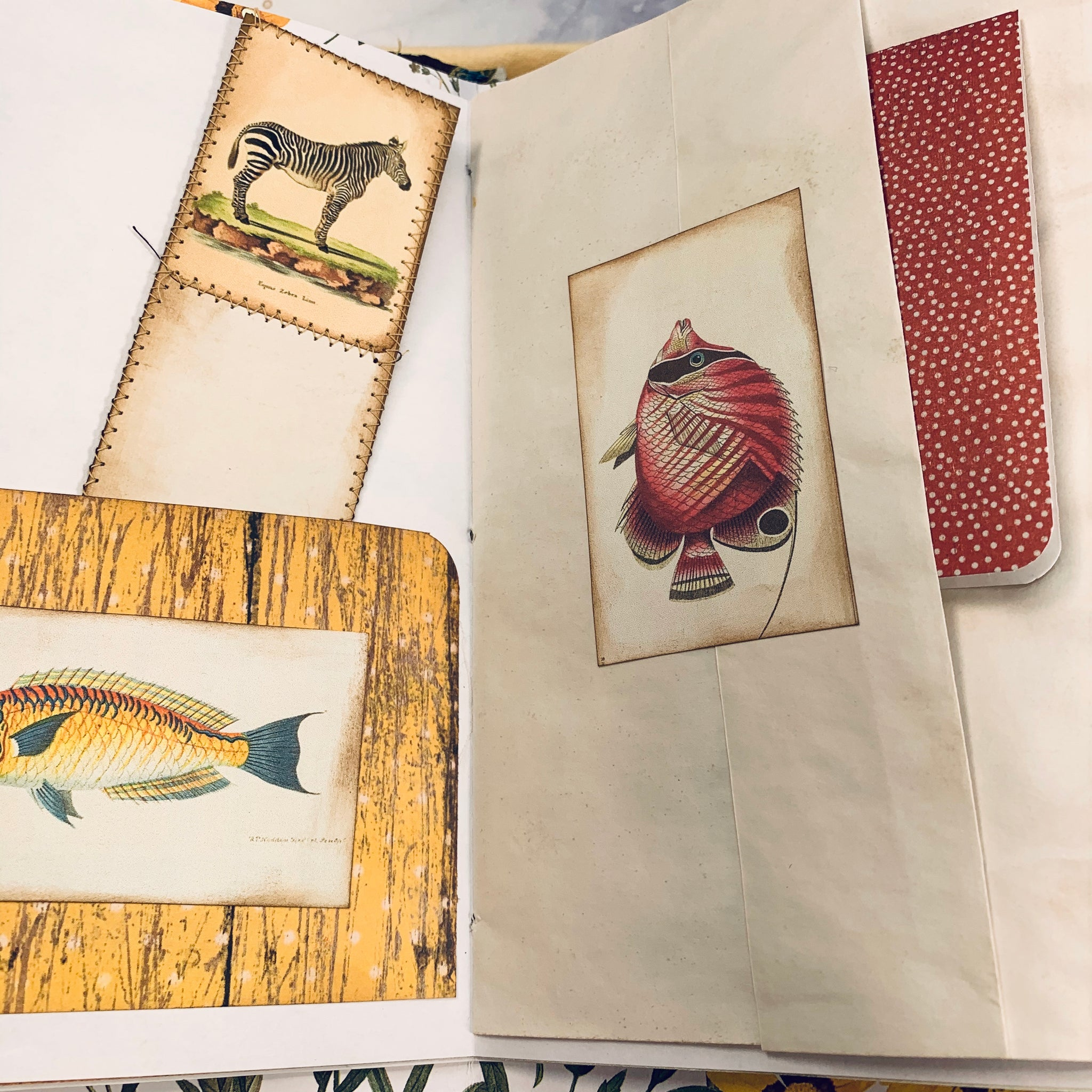 Junk Journal set of 2 by Kristin Saunders (January Challenge)