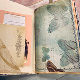 Floral Junk Journal by Melissa King (Feb Challenge Journal)