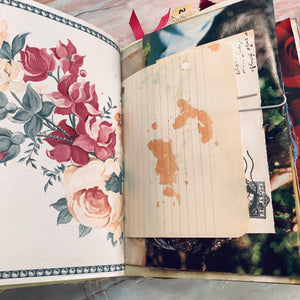 Rose Junk Journal by Barb Plude