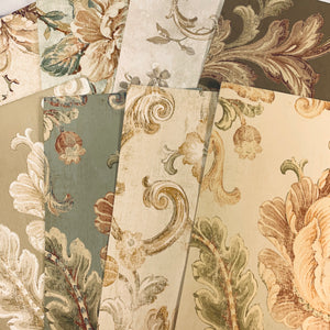 Fairytale Florals Wallpaper Collection set of 8- LZ