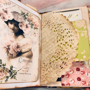 Vintage Junk Journal by Kim Warwick