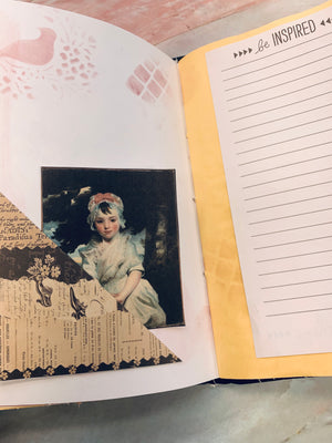 Pretty Lady Journal by Jane Dilley (March Challenge)