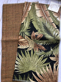 Palm Frond Upholstery Fabric Samples-JH