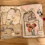 Patchwork Butterflies Junk Journal by Rita Henderson