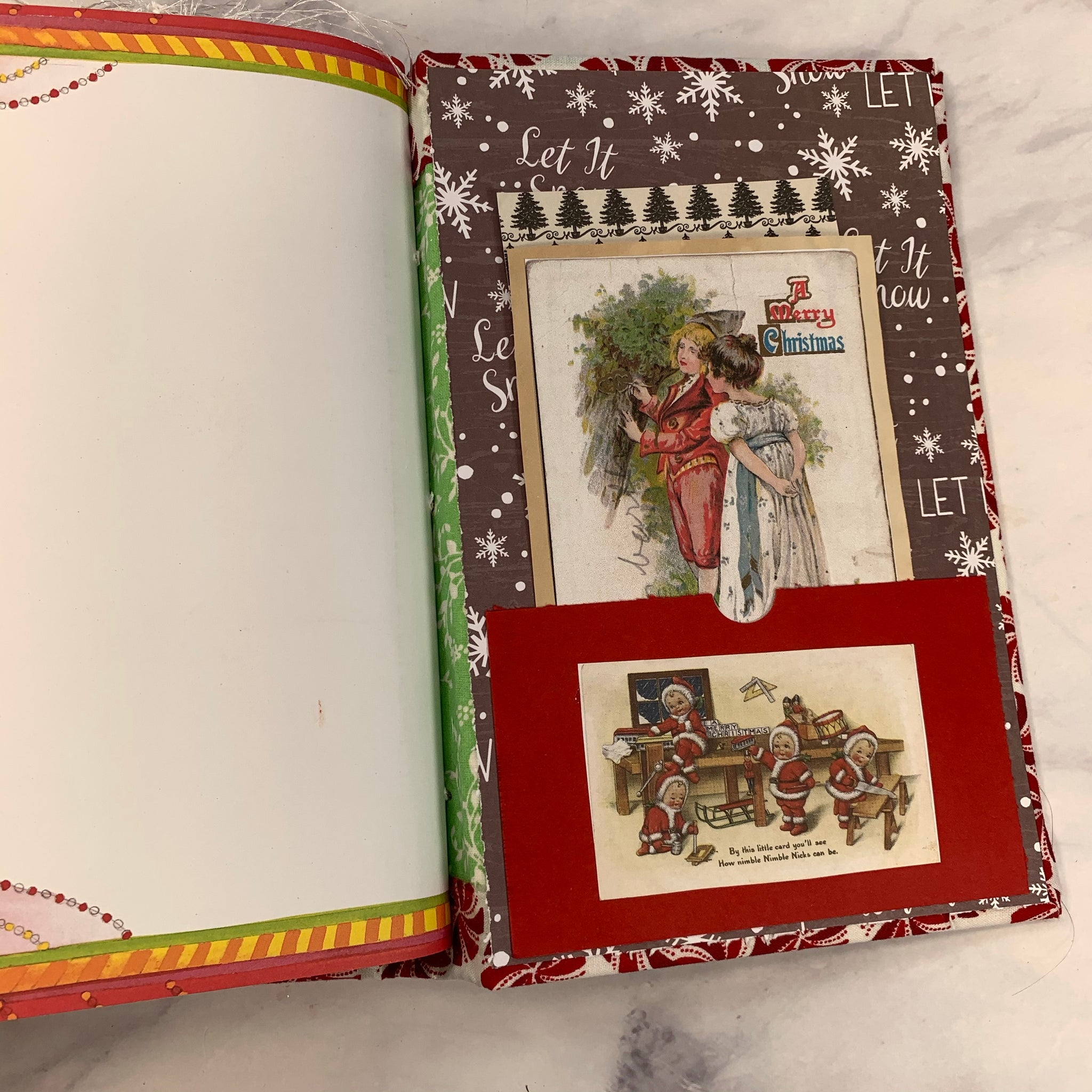 Happy Holidays Junk Journal by Laurie Grant
