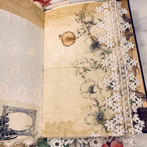 Bookland Junk Journal by Cheri Sawyer (January Challenge)