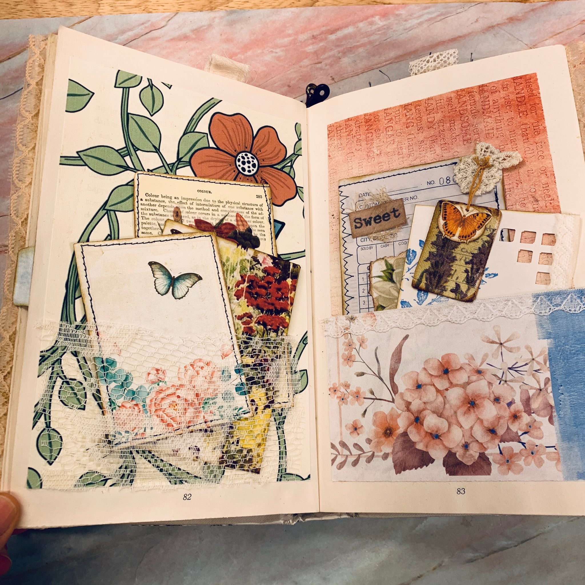 Artist's Delight Junk Journal by (March Challenge)