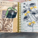 Oops-A-Daisies Junk Journal by Yvette Quale