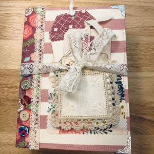Buttons & Butterflies # 1 by Kimberly Clayton (Feb. Challenge Journal)