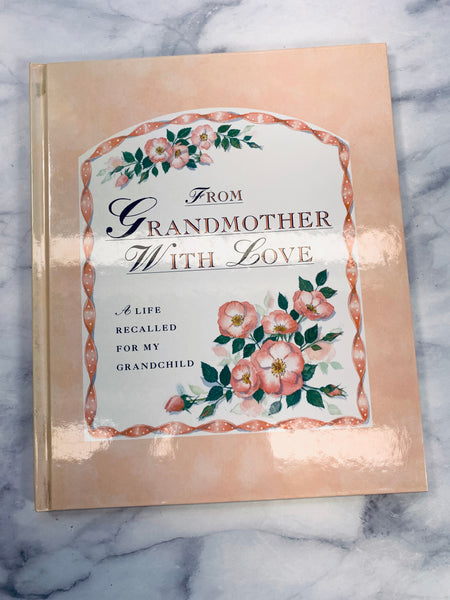 From Grandmother with Love Book